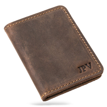 Knox Leather Bifold Wallet - Chestnut