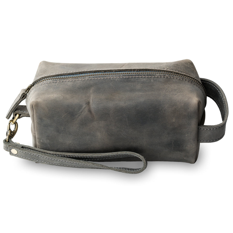 Lee Dopp Kit/ Men's Grooming Kit - Rock Grey