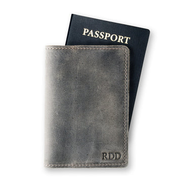 DeKalb Passport Cover - Rock Gray