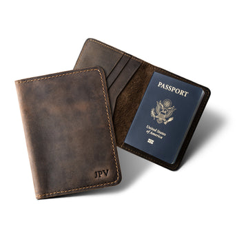 Pike Travel Wallet - Chestnut