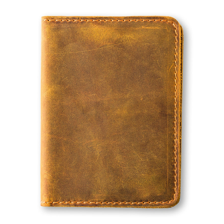 Pike Travel Wallet - Cinnamon