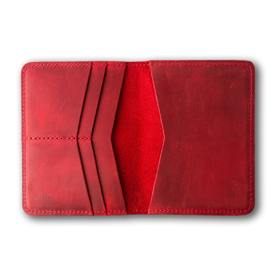 Pike Travel Wallet - Rose