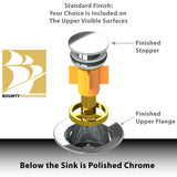 Standard Finish Pop Down® for Sinks
