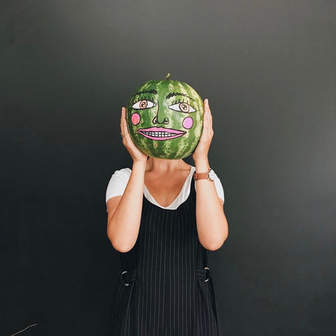 Happy Watermelon at Your Food Collective
