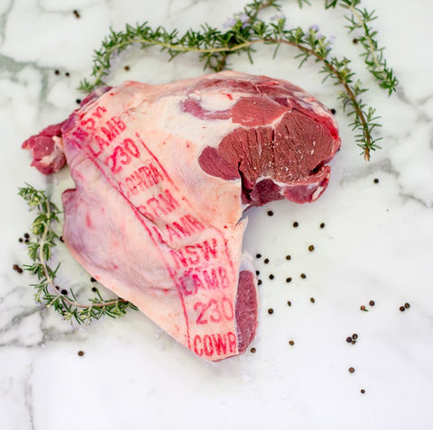 Hunter Natural Lamb SHoulder from Your Food Collective