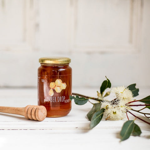 Amber Drop Raw Honey from Your Food Collective
