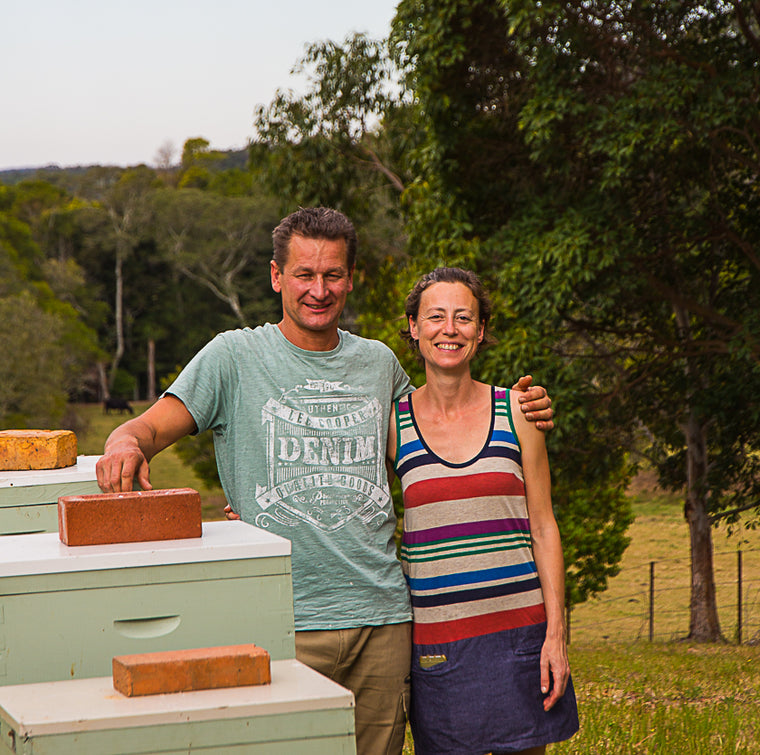 local producer amber drop honey at your food collective