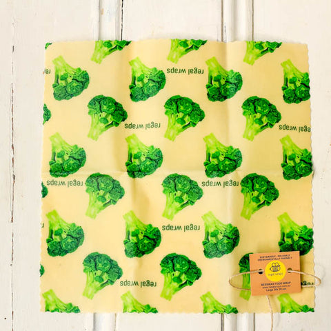 Beeswax wrap plastic free from Your Food Collective