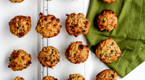 Muffin recipe with fresh, local ingredients at Your Food Collective