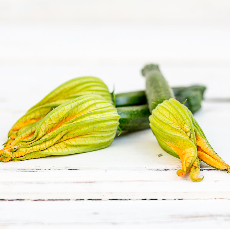 Local Producer Marie's Bella Zucchini Flowers at Your Food Collective