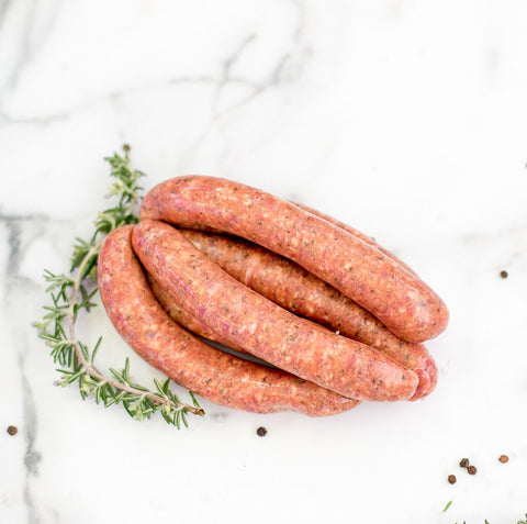 Local Hunter Natural Lamb Sausages from Your Food Collective