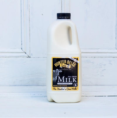 Local Full Cream Milk from Hunter Belle at Your Food Collective