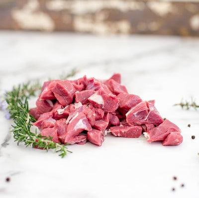 Local Grass Fed Diced Lamb - 500g