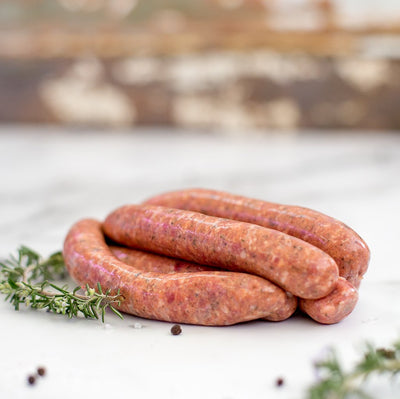 Local Sausages - lamb, honey, mint and rosemary - 1kg