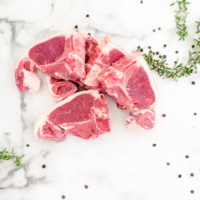 Local Lamb Loin Chops - 500g (4/5 pieces)