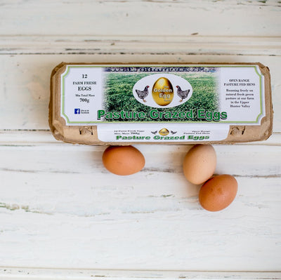 Local 1 Dozen Pasture Raised Eggs - 700g
