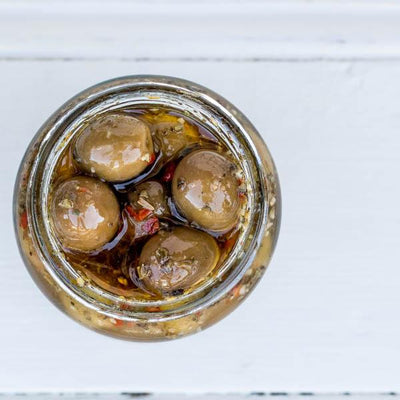 Local Spiced Olives from Producer Arolyn at Your Food Collective