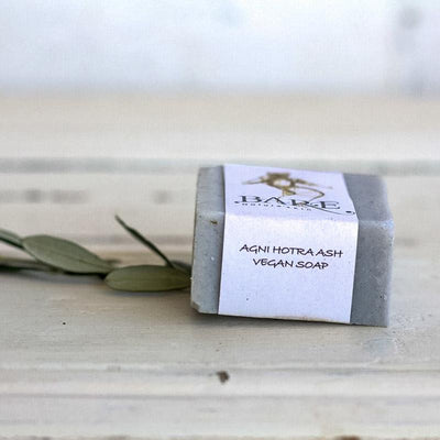 Local Agni Hotra Ash Vegan Soap Bar from producer BARE Nature'Skin at Your Food Collective