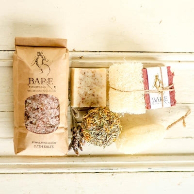 Local Pamper Pack From local Producer BareNaturesKin at Your Food Collective