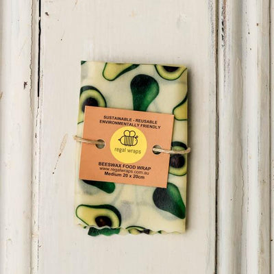 Local Bees wax food wrap from Regal Wraps and Your Food Collective
