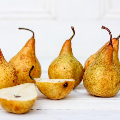 Local Burre Bosc Pears from Hillside Harvest at Your Food Collective