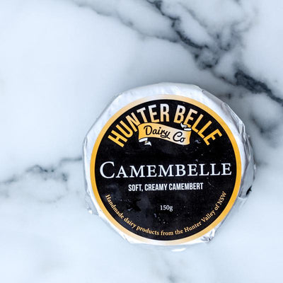 Local Camembelle from Hunter Belle at Your Food Collective