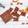 Local Chocolate - Organic Milk Honey & Almond Bar (70g)
