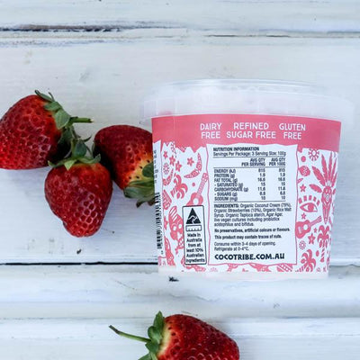 Local Coconut yoghurt from Coco tribe and YOur Food Collective