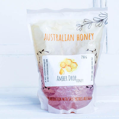 Local Compostable Honey Refill from Amber Drop Honey at Your Food Collective