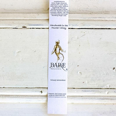 Local Doggy Shampoo Strip from BARE Nature'sKin at Your Food Collective