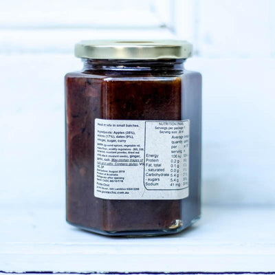 Local Curried Apple and Date Chutney from Producer The Pickle Chic at Your Food Collective