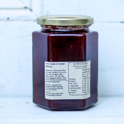 Local Sweet Chilli Jam from Producer the Pickle Chic at Your Food Collective