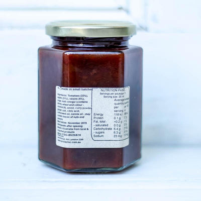 Local Sweet Apple, Tomato and Chilli Chutney from Producer The Pickle Chic at Your Food Collective