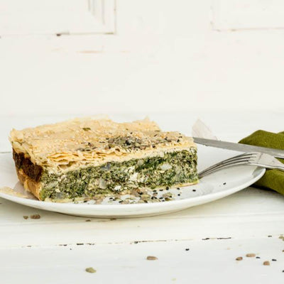 Local Spanakopita from Gamble & Brown at Your Food Collective
