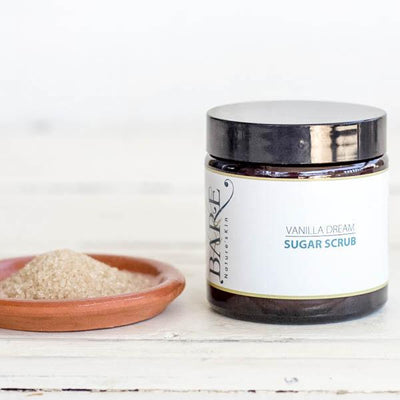 Local Vanilla Dream Sugar Scrub by Producer BARE Nature'sKin at Your Food Collective