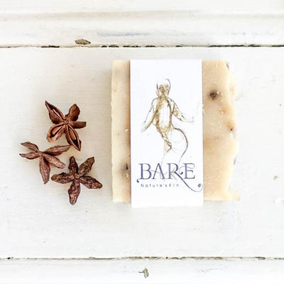 Local Staranise Goats Milk Soap Bar from Producer BARE Nature'sKin at Your Food Collective