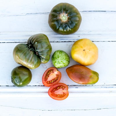 Local Heirloom Tomatoes from Producer Lak at Your Food Collective