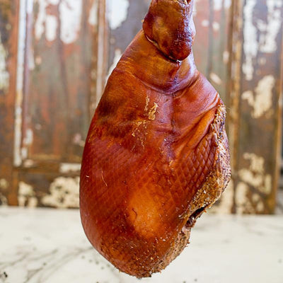 Local Wood Smoked Leg Ham (sliced) - 400g
