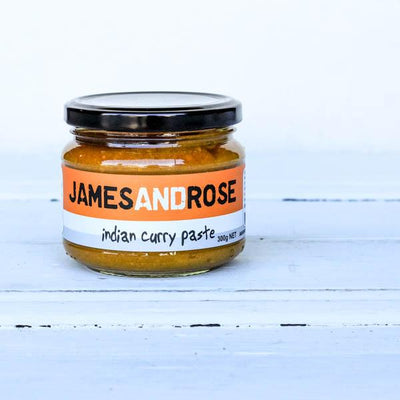 Local Indian Curry Paste from James and Rose at YOur Food collective