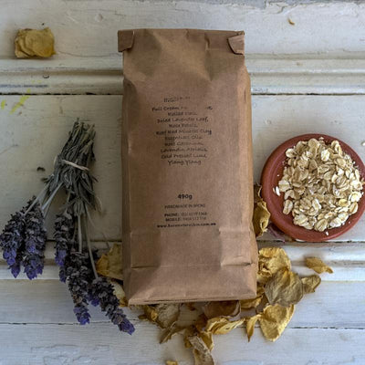 Local Lavender, Rose & Oat Milk Bath by Producer BARE Nature'sKin at Your Food Collective