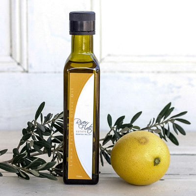 Local Lemon Infused Olive Oil by Producer Riverflats Estate at Your Food Collective