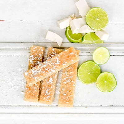 Local tofu and Lime slice at your food collective