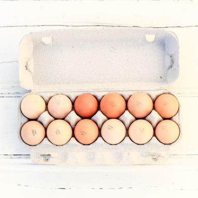 Local 1 Dozen Little Hill Farm Pasture Raised Eggs - 700g
