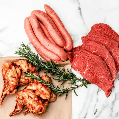 Local BBQ meat pack from Hunter Natural and Your food Collective