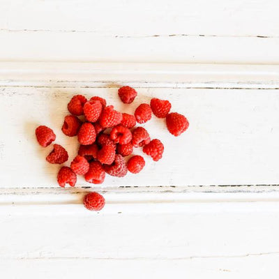 Local Raspberries at Your Food Collective