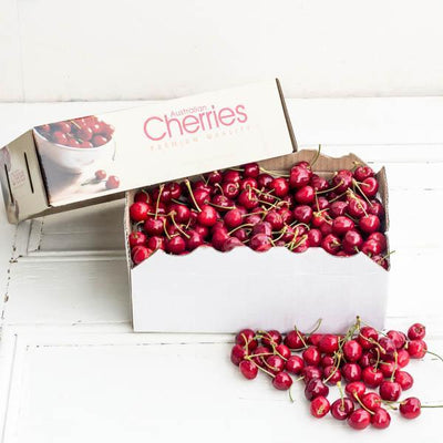 Local Cherries at Your Food Collective