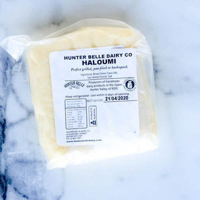Local Haloumi from Hunter Belle at Your Food Collective
