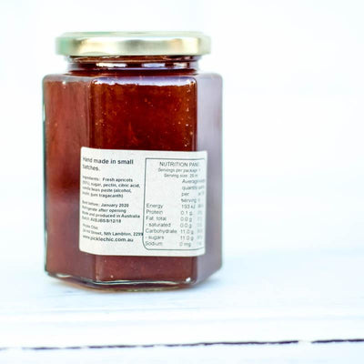 Local Apricot and Vanilla Jam from Producer The Pickle Chick at Your Food Collective