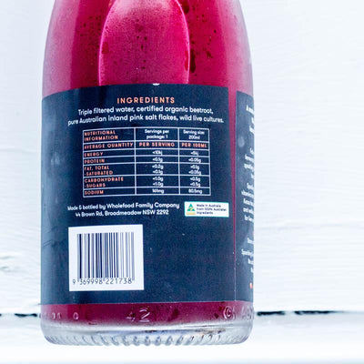 Local Beetroot Kvass fro The Whole Food family at YOur Food Collective