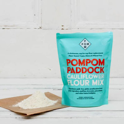 Local Gluten Free flour from PomPom Paddock and Your Food Collective